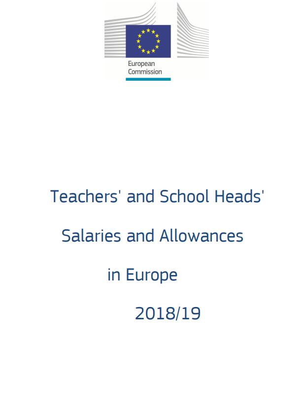 cover report teacher salaries