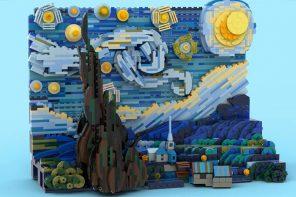 LEGO: Έναστρη Νύχτα του Βαν Γκογκ!